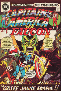 Cover Thumbnail for Capitaine America (Editions Héritage, 1970 series) #25