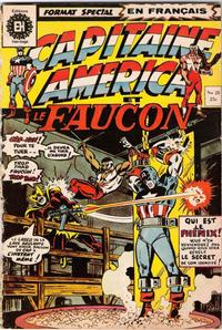 Cover Thumbnail for Capitaine America (Editions Héritage, 1970 series) #28