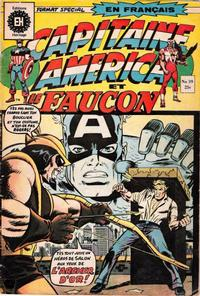 Cover Thumbnail for Capitaine America (Editions Héritage, 1970 series) #39