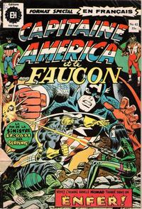 Cover Thumbnail for Capitaine America (Editions Héritage, 1970 series) #42