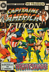 Cover Thumbnail for Capitaine America (Editions Héritage, 1970 series) #50