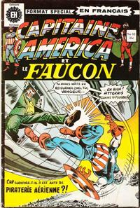Cover Thumbnail for Capitaine America (Editions Héritage, 1970 series) #52