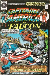 Cover Thumbnail for Capitaine America (Editions Héritage, 1970 series) #54