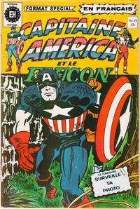 Cover Thumbnail for Capitaine America (Editions Héritage, 1970 series) #59