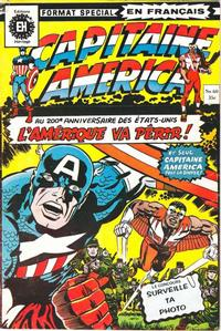 Cover Thumbnail for Capitaine America (Editions Héritage, 1970 series) #60