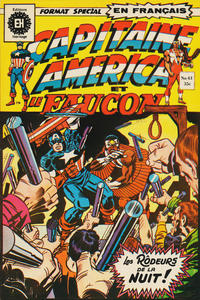 Cover Thumbnail for Capitaine America (Editions Héritage, 1970 series) #61