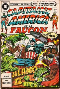 Cover Thumbnail for Capitaine America (Editions Héritage, 1970 series) #63