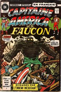 Cover Thumbnail for Capitaine America (Editions Héritage, 1970 series) #64
