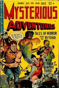 Cover Thumbnail for Mysterious Adventures (Story Comics, 1951 series) #1