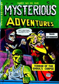 Cover Thumbnail for Mysterious Adventures (Story Comics, 1951 series) #2