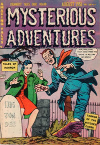 Cover Thumbnail for Mysterious Adventures (Story Comics, 1951 series) #3