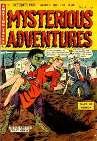 Cover Thumbnail for Mysterious Adventures (Story Comics, 1951 series) #4