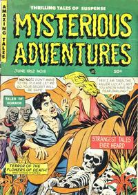 Cover Thumbnail for Mysterious Adventures (Story Comics, 1951 series) #8