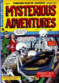 Cover Thumbnail for Mysterious Adventures (Story Comics, 1951 series) #9