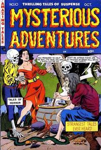 Cover Thumbnail for Mysterious Adventures (Story Comics, 1951 series) #10