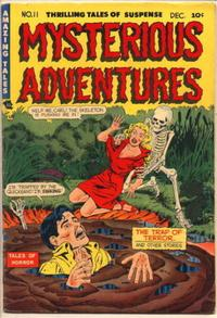 Cover Thumbnail for Mysterious Adventures (Story Comics, 1951 series) #11
