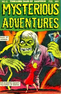 Cover Thumbnail for Mysterious Adventures (Story Comics, 1951 series) #12