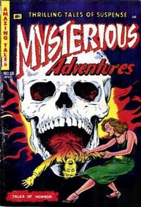 Cover Thumbnail for Mysterious Adventures (Story Comics, 1951 series) #13