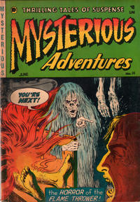 Cover Thumbnail for Mysterious Adventures (Story Comics, 1951 series) #14