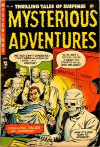 Cover Thumbnail for Mysterious Adventures (Story Comics, 1951 series) #16