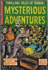 Cover Thumbnail for Mysterious Adventures (Story Comics, 1951 series) #21