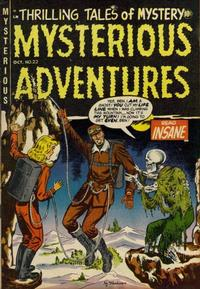 Cover Thumbnail for Mysterious Adventures (Story Comics, 1951 series) #22
