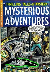 Cover Thumbnail for Mysterious Adventures (Story Comics, 1951 series) #23