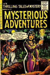 Cover Thumbnail for Mysterious Adventures (Story Comics, 1951 series) #24