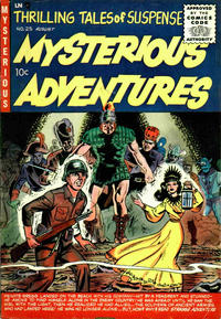 Cover Thumbnail for Mysterious Adventures (Story Comics, 1951 series) #25