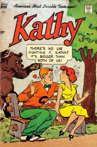 Cover Thumbnail for Kathy (Pines, 1949 series) #17