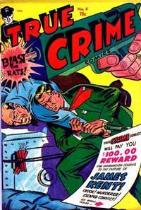 Cover Thumbnail for True Crime Comics (Alval Publishers, 1948 series) #4