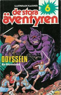 Cover Thumbnail for Illustrerade klassiker - De stora äventyren (Semic, 1979 series) #6