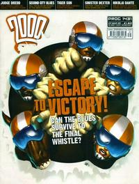 Cover Thumbnail for 2000 AD (Rebellion, 2001 series) #1431