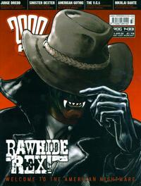 Cover Thumbnail for 2000 AD (Rebellion, 2001 series) #1433