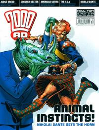 Cover Thumbnail for 2000 AD (Rebellion, 2001 series) #1434