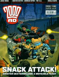 Cover Thumbnail for 2000 AD (Rebellion, 2001 series) #1435