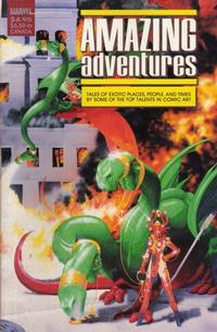 Cover Thumbnail for Amazing Adventure (Marvel, 1988 series) #1