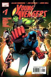 Cover Thumbnail for Young Avengers (Marvel, 2005 series) #1