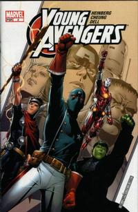 Cover Thumbnail for Young Avengers (Marvel, 2005 series) #2