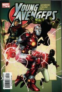 Cover Thumbnail for Young Avengers (Marvel, 2005 series) #3