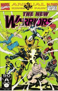 Cover Thumbnail for The New Warriors Annual (Marvel, 1991 series) #1