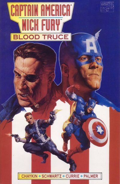 Cover for Captain America / Nick Fury: Blood Truce (Marvel, 1995 series)