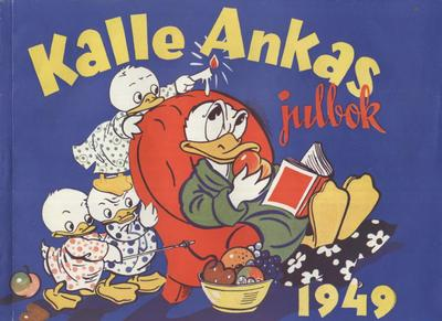 Cover for Kalle Ankas julbok (Åhlén & Åkerlunds, 1941 series) #1949