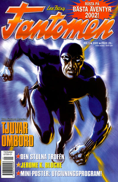 Cover for Fantomen (Egmont, 1997 series) #1/2003