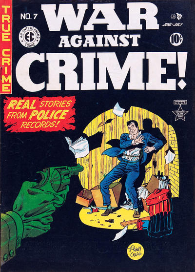 Cover for War Against Crime! (EC, 1948 series) #7
