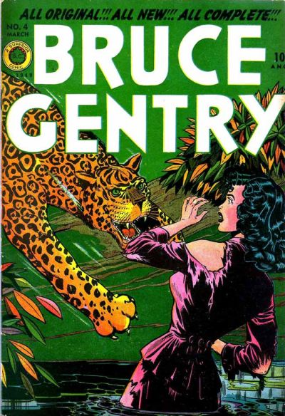 Cover for Bruce Gentry Comics (Superior, 1948 series) #4