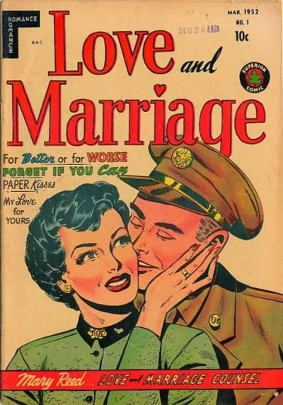 Cover for Love and Marriage (Superior, 1952 series) #1