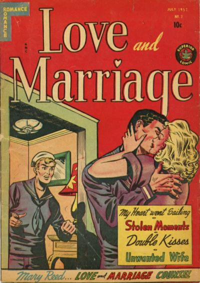 Cover for Love and Marriage (Superior Publishers Limited, 1952 series) #3
