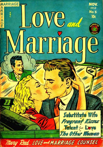 Cover for Love and Marriage (Superior Publishers Limited, 1952 series) #5