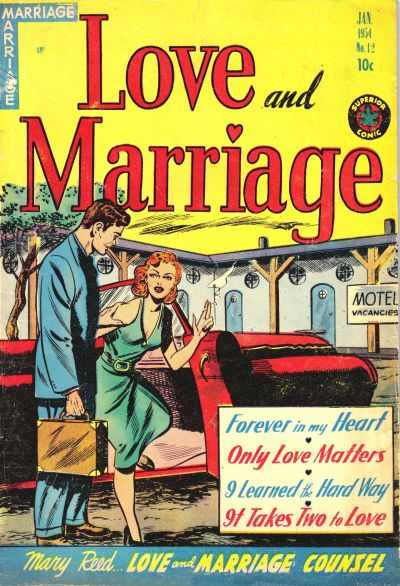 Cover for Love and Marriage (Superior, 1952 series) #12